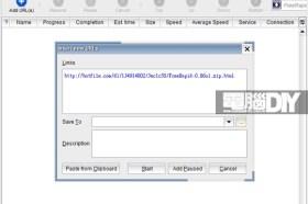 續傳軟體FreeRapid Downloader