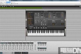 線上音樂創作軟體Audio Sauna