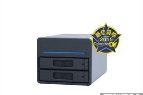 高速、大容量 STARDOM SOHOTANK ST2-SB3 磁碟陣列外接盒
