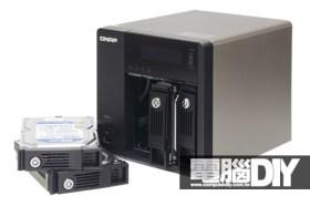 QNAP Turbo NAS使用介面及磁碟陣列功能