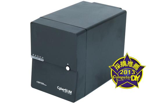 CyberSLIM S84M-U3SR 四層硬碟外接盒 - 電腦DIY
