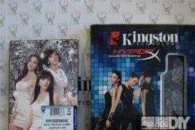 夢幻女神系天團「Dream Girls」擔任Kingston 2011年度品牌宣傳大使