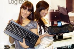 羅技首款無線炫光鍵盤K800亮眼登場