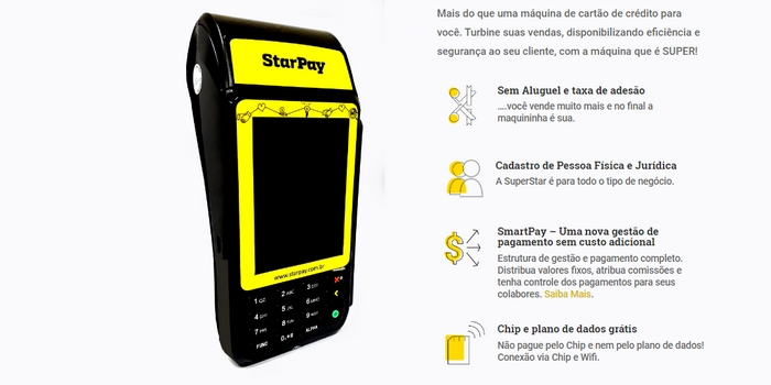Maquininha StarPay