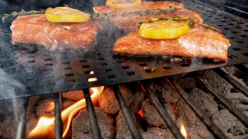 Grilled salmon was the top summer 2020 grilling recipe