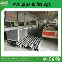 High quality pvc pipe and fittings with wholesale price