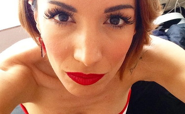 Andrea Delogu, hot selfie in a panciera: let's clear it as sexy.  Alberto Matano also applauds    Photo