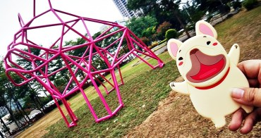 超可愛粉紅色法鬥現身綠園道,IG打卡又要又要瘋狂啦!
