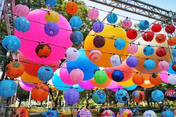 20191031162919 10 - 2020台灣燈會在台中倒數100天,台中公園率先點燈~繽紛花燈點亮湖面