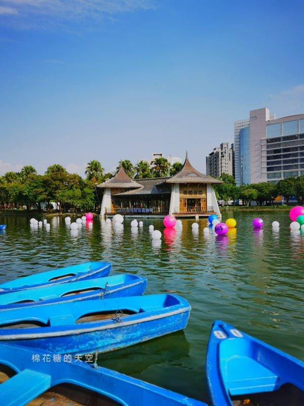20191031162921 60 - 2020台灣燈會在台中倒數100天,台中公園率先點燈~繽紛花燈點亮湖面