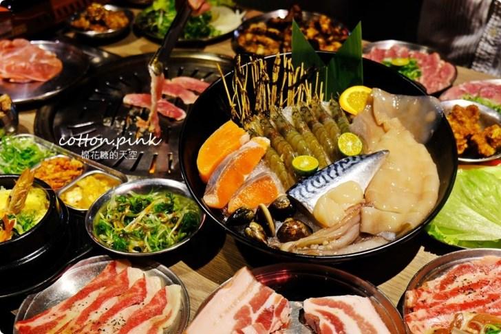 20191224003105 17 - 熱血採訪|台中公益路唯一韓式燒肉吃到飽!五花肉.KR mini韓國烤肉BBQ台中只有這一家~