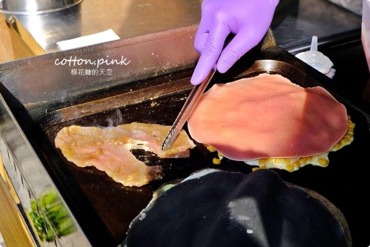 20191224221627 52 - 熱血採訪│台中古早味粉漿蛋餅!粉紅色餅皮滿滿料,柴老闆古早味蛋餅最新隱藏版就在這(已歇業)