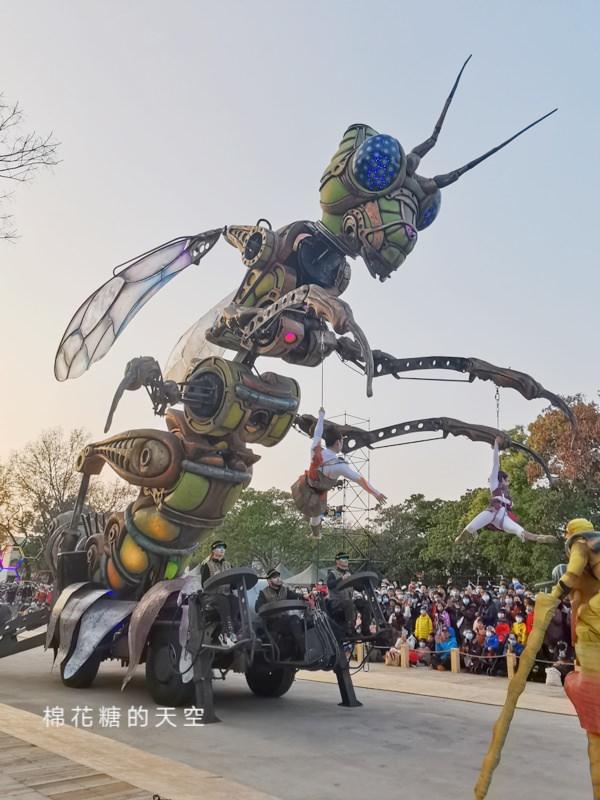 20200211164321 87 - 台灣燈會必看表演-全球首演森林機械巨蟲秀,台灣限定一天只有三場