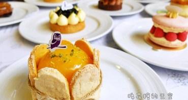 """《台中甜點》天啊~""""搞剛""""法式甜點店歐貝納竟然開放吃到飽了!一個禮拜只有一天~千層派、抹茶塔、馬卡龍、可麗露……通通有,快來看甜點大攻略!(吃到飽活動目前結束囉!)"""