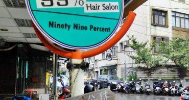 《台北美髮》來淡水逛老街兼變身,99%Hair Salon 好技術~來頭浪漫捲捲髮超有冬季過節氣氛的啦!