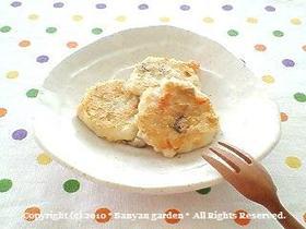 離乳食完了期*鶏肉入り豆腐の落とし焼き*(鶏肉入り豆腐バーグ)