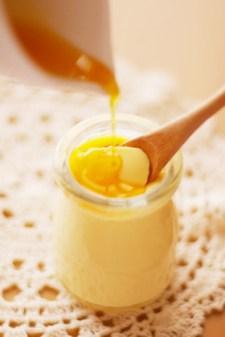 卵黄1つで❀簡単1人分プリン
