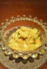 離乳食後期 カボチャとアボカドのサラダ