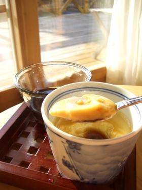 とろっとろ❤豆乳ぷりん