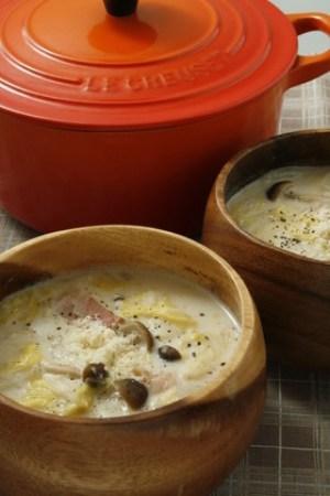 白菜 クリームシチュー