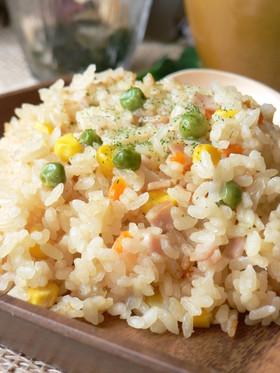 ♥♡♥炊飯器で…豆乳misoライス♥♡♥