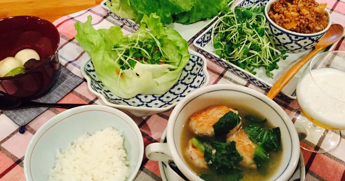 豚ひきのレタス包み&レンコン大活躍スープ by 海の星プリン ...
