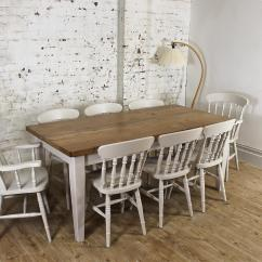 Pine Kitchen Chairs Ireland Star Trek Chair Cape Solid 6ft Dining Set Table Rustic Bespoke Farmhouse