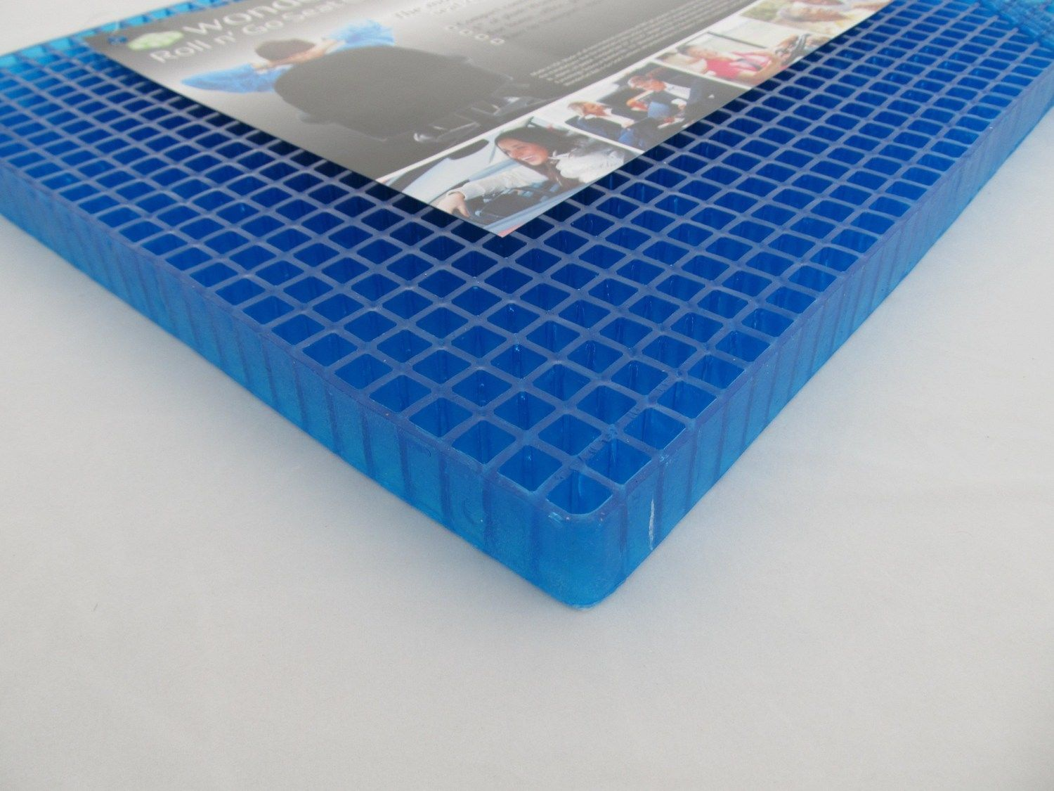 Gel Pad For Chair Wondergel Original Gel Blue Seat Cushion Office Chair