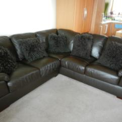 Corner Sofa Leather Ebay Cheap Sectional Sofas For Sale Online Brown Soft 5 Seater