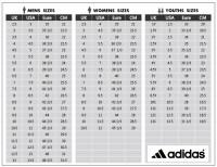 Adidas Big Kid Shoe Size Chart Adidas Kid Shoes Size Chart