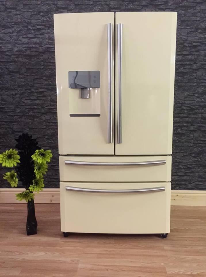 Haier American Fridge Freezer  CREAM  eBay