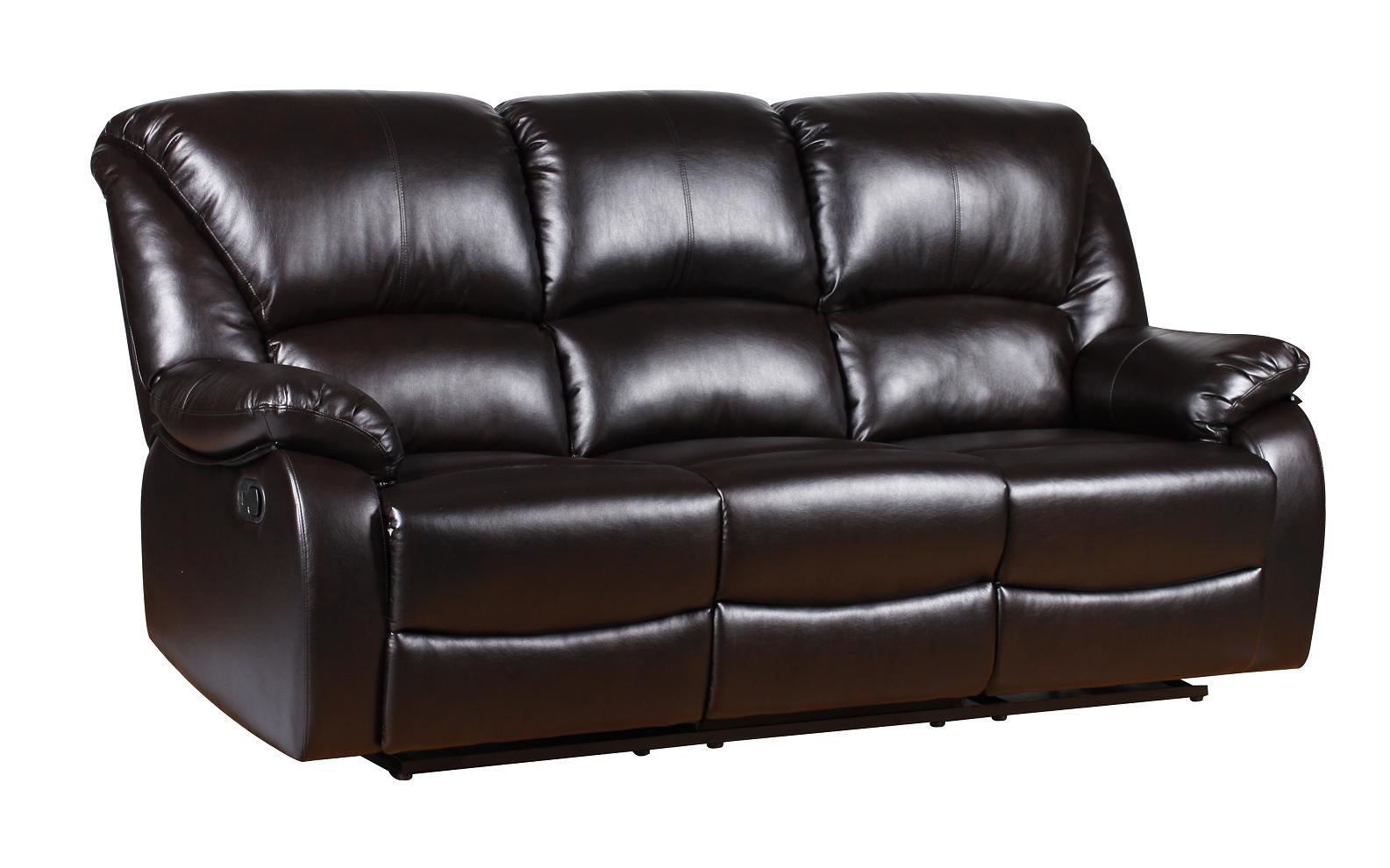 vine brown leather sofa ebay arm covers dunelm new luxury valencia bonded recliner suite