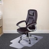 Carpet Floor Office Computer Work Chair Mat PVC Protector ...