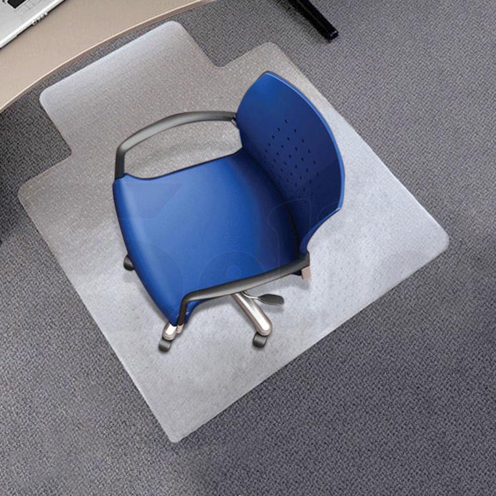 New Carpet Floor Office Computer Work Chair Mat PVC
