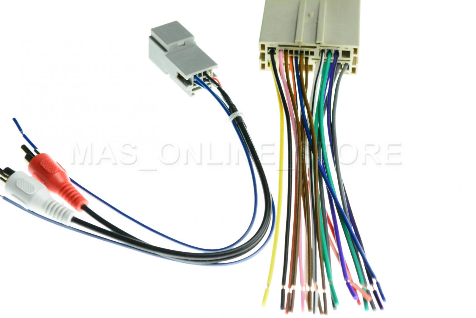 medium resolution of details about ford lincoln mercury car stereo after market wiring harness rca 70 5521