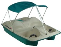 Pedal Boat Canopy Paddle Sun Shade Blue UV Protection ...