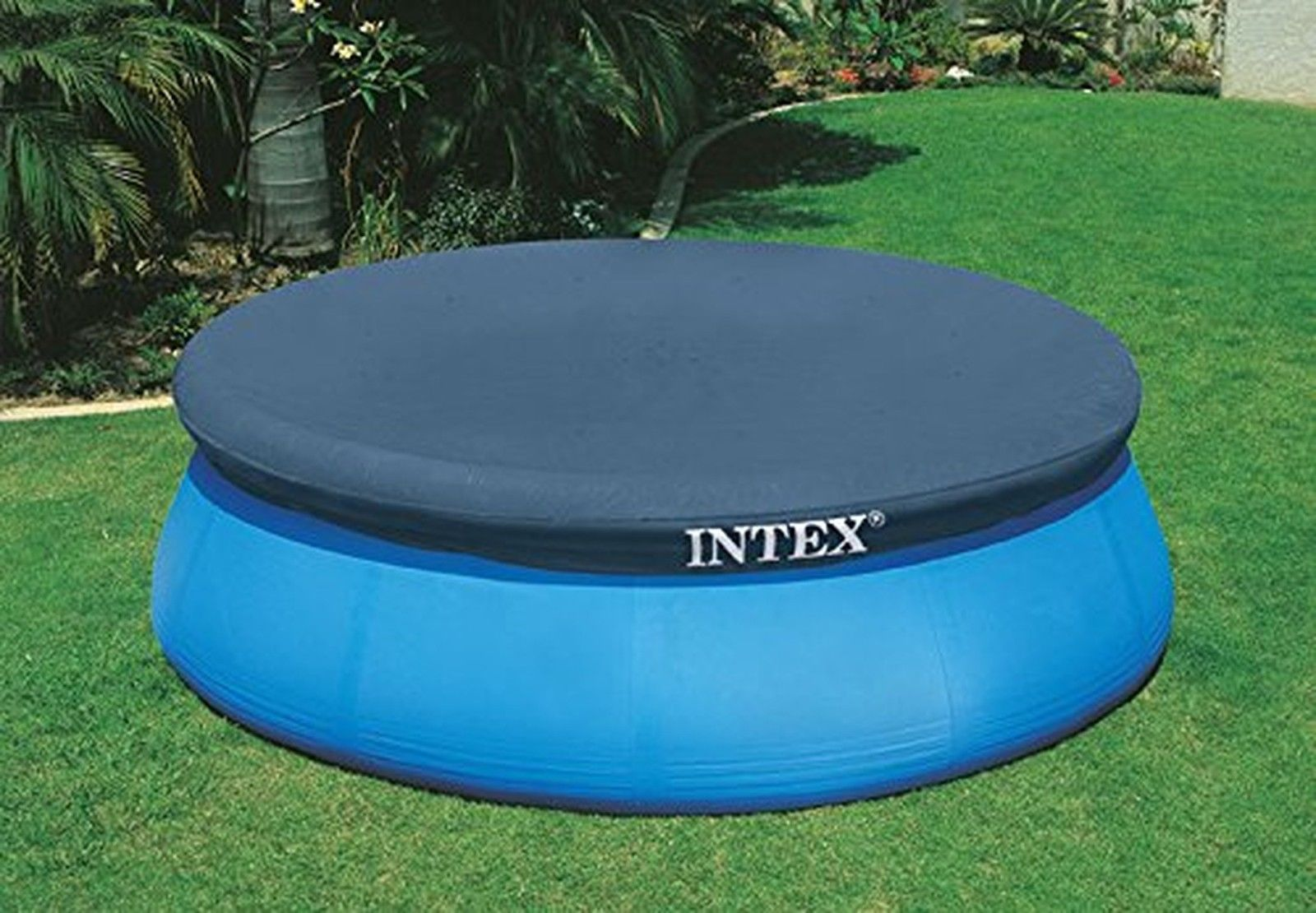 10 Ft Fast&easy Set Intex Swimming Pool Cover Above Ground Safety Protect