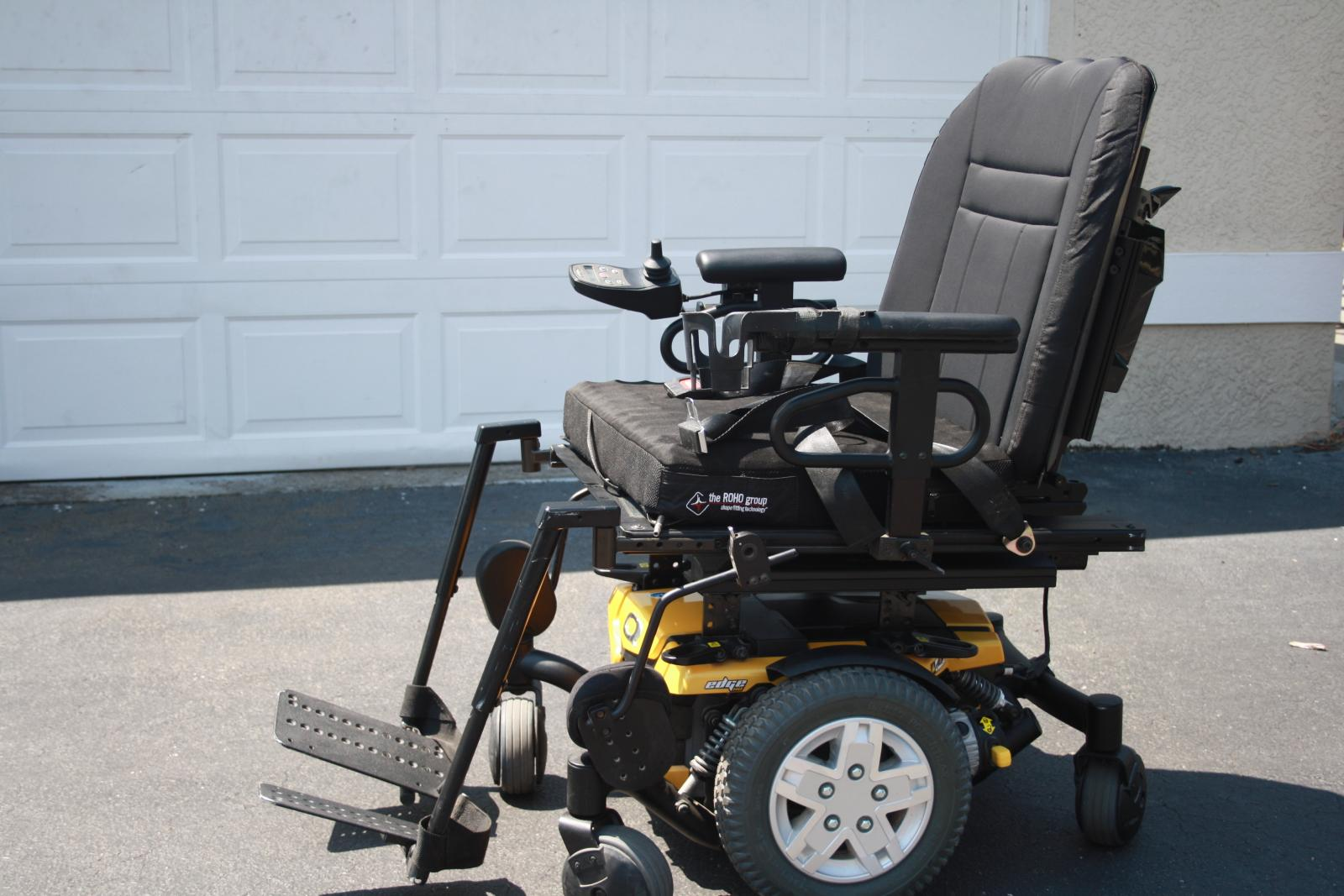 Used Power Chair Custom Pride Mobility Quantum Q6 Edge Hd Power Wheelchair