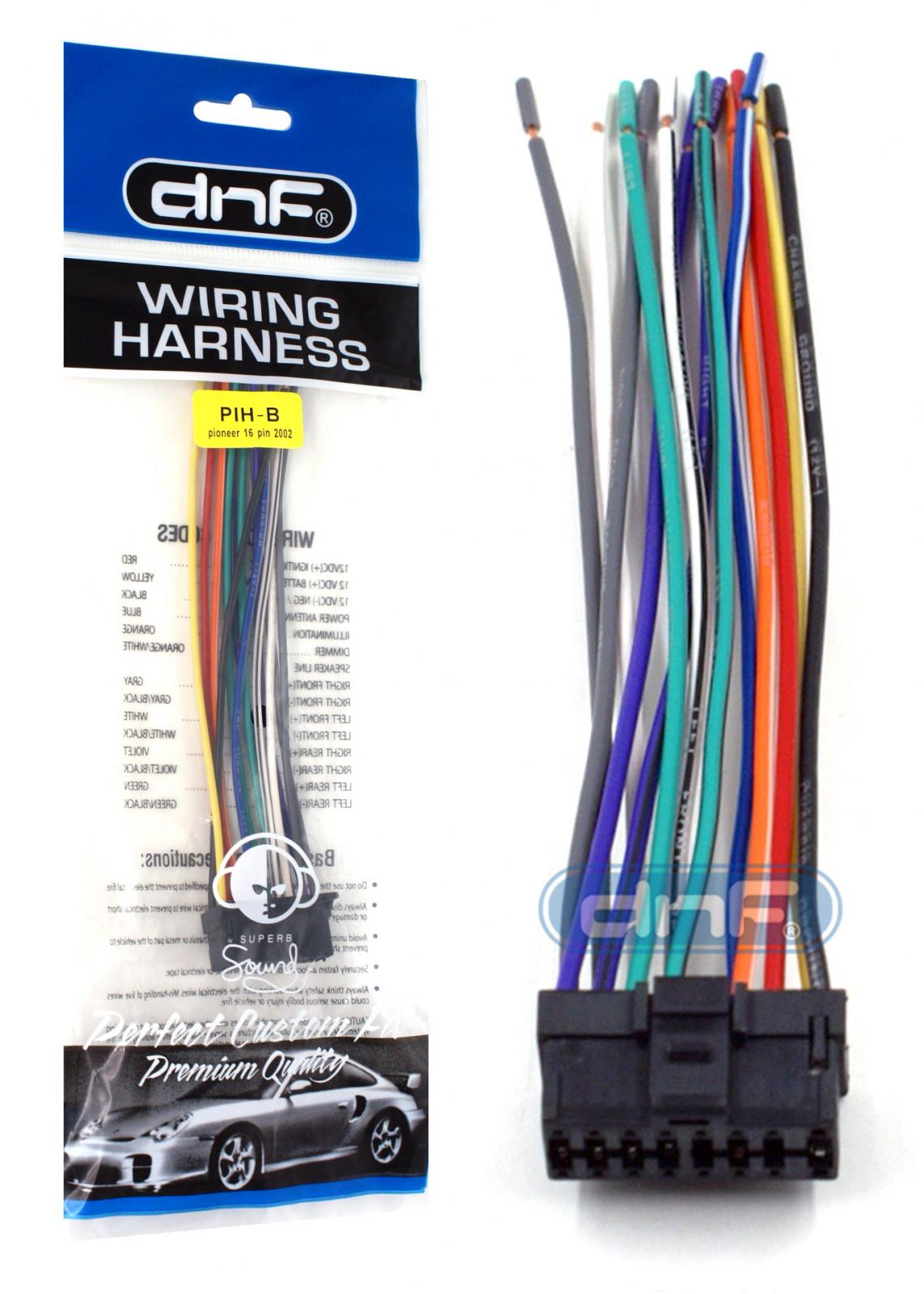 hight resolution of pioneer wiring harness deh p6400 deh p6450 fh p4000 free same day