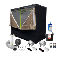 Complete Hydroponic Grow Room Tent Fan Filter Light Kit ...