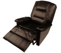 Comfortable PU Leather Massage Lounge Chair Recliner with ...