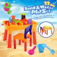 Outdoor Water & Sand Children Activity Play Table with