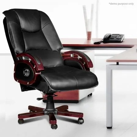 desk chair recliner small space table and chairs reclining leather office crazy sales