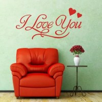 I LOVE YOU Romantic Wall Stickers DIY Removable Art Wall ...