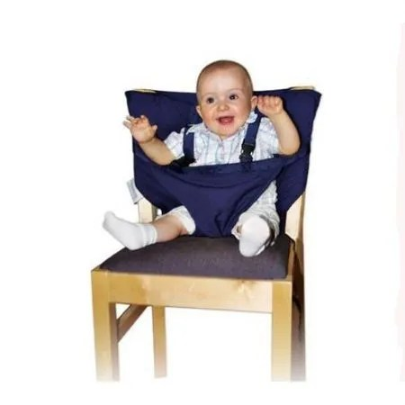 outdoor baby portable high chair glider canada travel seat cover belt with shoulder bag-dark blue | crazy sales