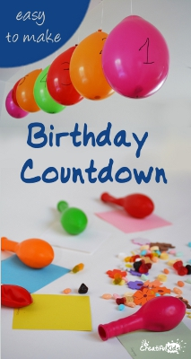 Birthday Countdown Craft for Kids