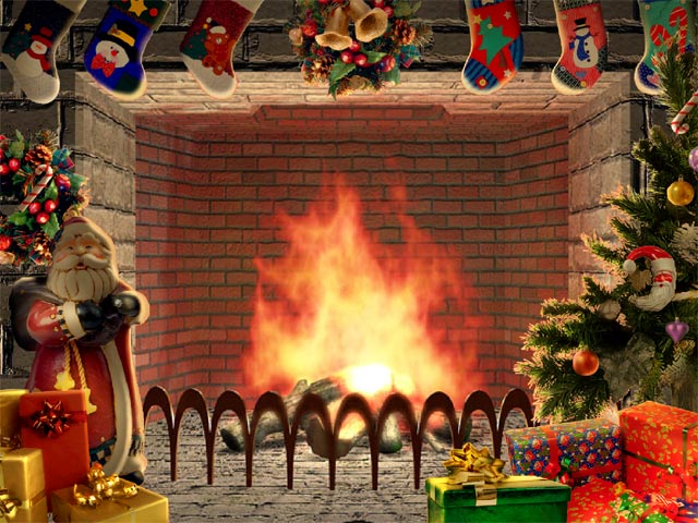 Live Wallpaper Iphone X Commercial Not On Phone Christmas Living 3d Fireplace Screensaver Free Download