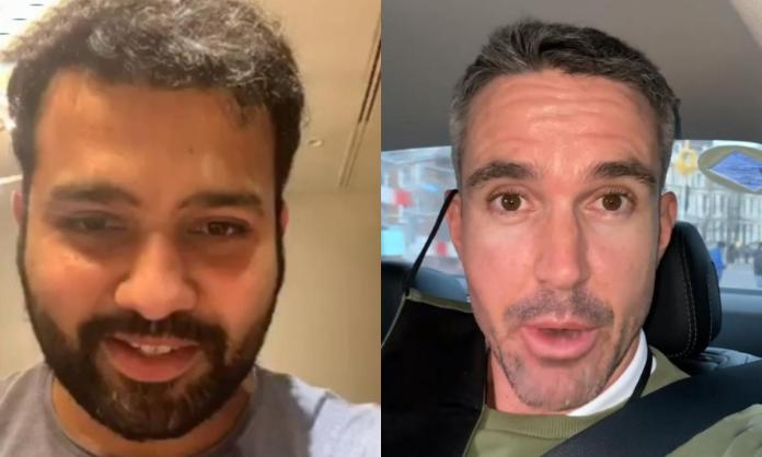 Cricket Image for Rohit Sharma Reacts After Kevin Pietersen Reacts To Motera Pitch Debate