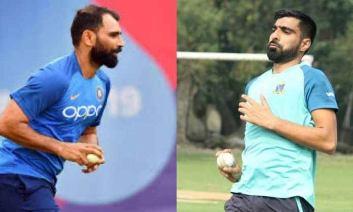 Mohammed Shami congratulates his brother after his Vijay Hazare Trophy debut