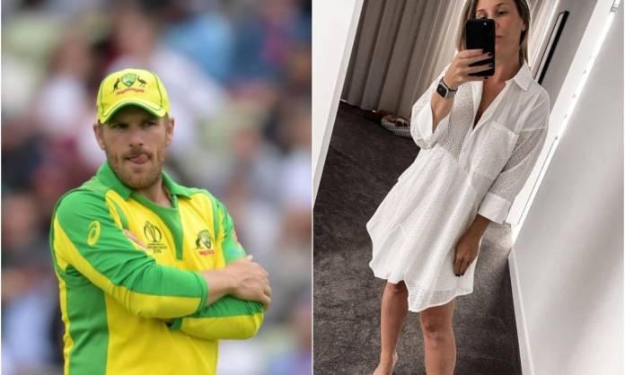 Cricket Image for आरोन फिंच की पत्नी एमी को मिल रही है ऑनलाइन धमकी, वजह जानकर हैरान रह जाएंगे आप